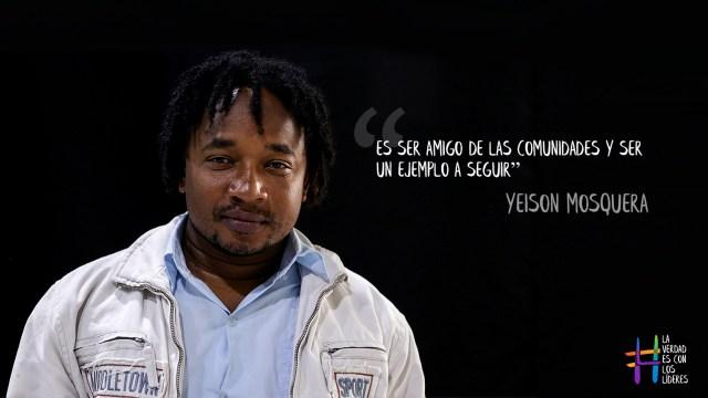 Clan del Golfo declara objetivo militar a Yeison Mosquera y a otros líderes sociales en el Chocó