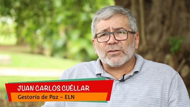 Capturan a Juan Carlos Cuellar Gestor de Paz del ELN en Cali.