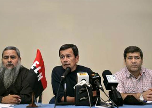 Recaptura del Gestor de Paz es propio de un régimen que hace trizas la paz: Delegación de paz ELN