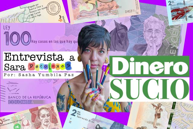 """Dinero sucio: Una obra de arte conceptual que describe la cotidianidad delictiva de los """"padres de la patria»"""