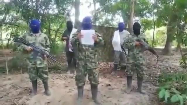 """""""Procederemos violentamente contra toda persona que no acate nuestras órdenes"""": Autodefensas Gaitanistas"""