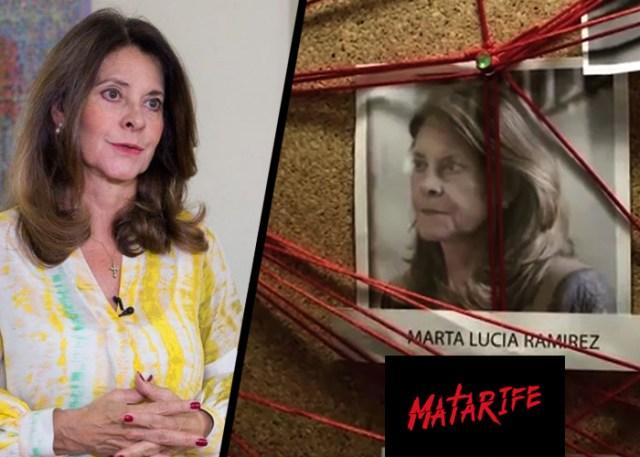 """Daniel Mendoza califica como """"Demanda chiflada"""" la que interpondrá la vicepresidenta Martha Lucía contra la serie el Matarife"""