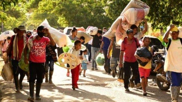 450 familias desplazadas tras masacre de Los Rastrojos en Norte de Santander