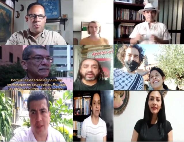 Ciudadanía del mundo rechazó el asesinato del profesor Campo Elías Galindo.