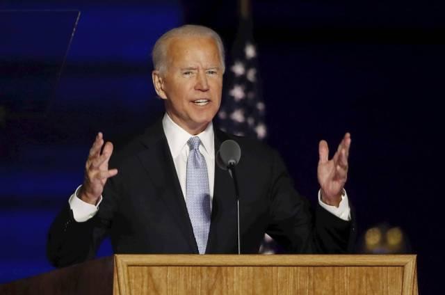 La esperanza de Joe Biden esta puesta en el pasado
