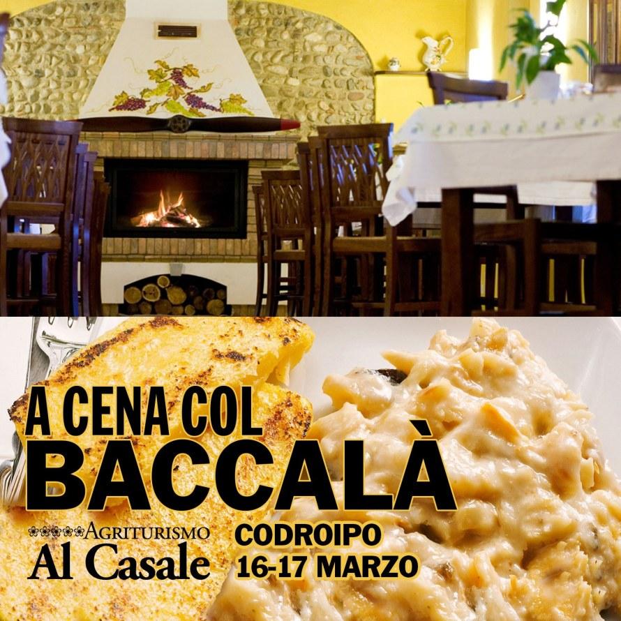 Al Casale Quad Baccala 890x890 16 17 Marzo: Cene col Baccalà + Musica