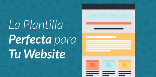 Plantilla perfecta en WordPress, ¿existe?