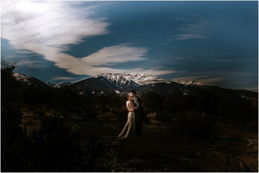 Colorado Elopement Photographers | Buena Vista Elopement
