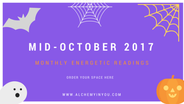 Alchemy in You Monthly October Reading