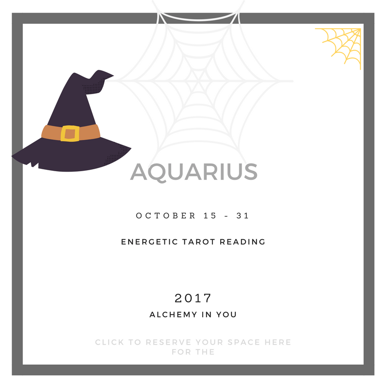 Aquarius Mid-Monthly October 2017 (October 15 - 31) Reading