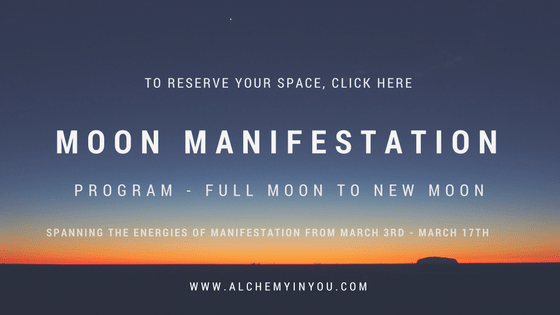 alchemy in you moon manifestation