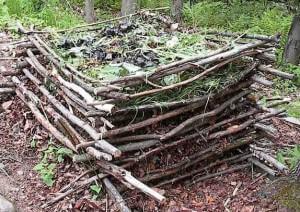 Compostera casera natural