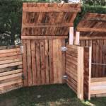 Compostadora grande de madera