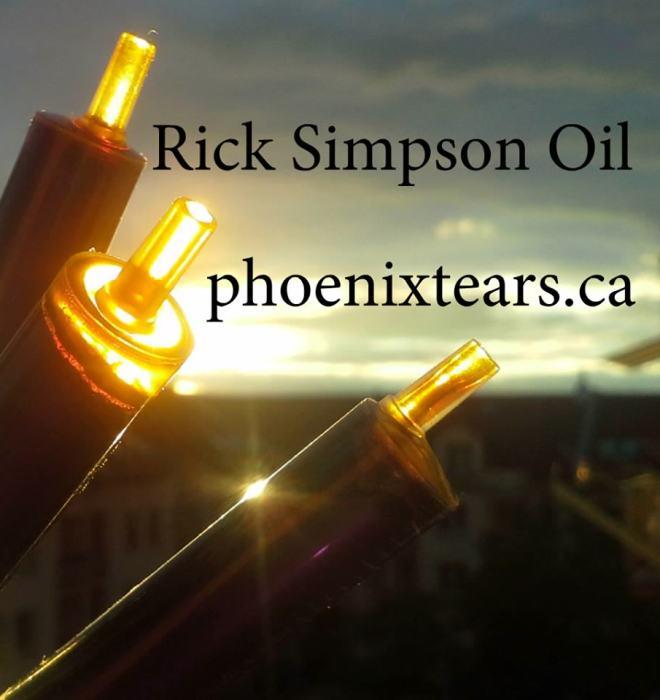 Huile de cannabis de Rick Simpson
