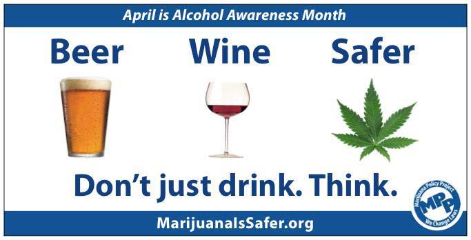 Si l'alcool est légal, pourquoi pas le cannabis ?