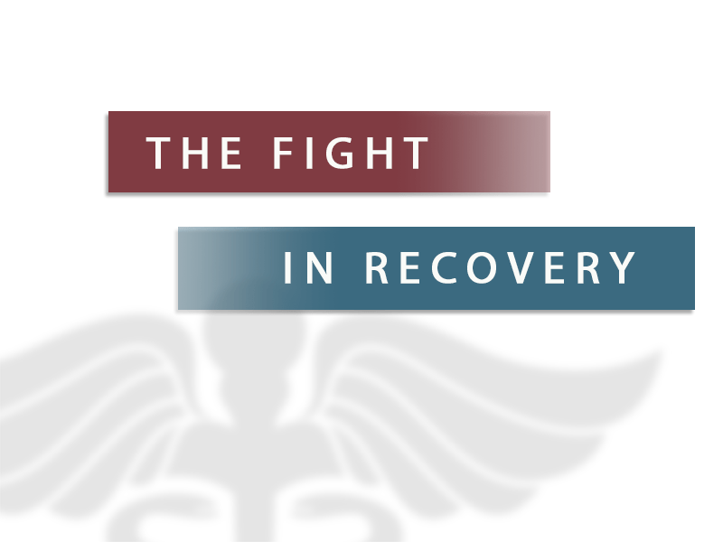 the fight in recovery