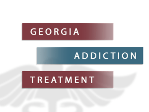 Georgia Addiction Treatment