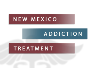 New Mexico Addiction Treatment