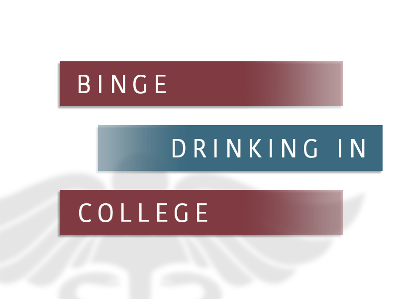 Binge Drinking In College