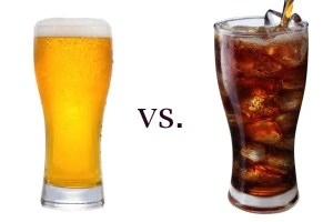 beer vs cola