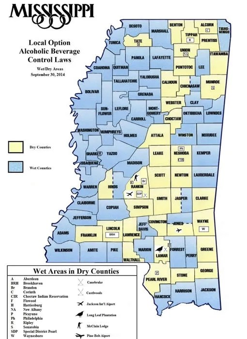 Mississippi Alcohol Laws: Temperance-oriented? Discover the Truth! on