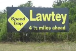 what's a speed trap