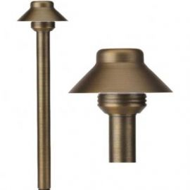 solid brass low voltage led front yard