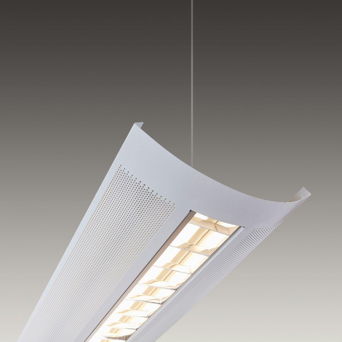 alcon 12030 kingston architectural led linear pendant light