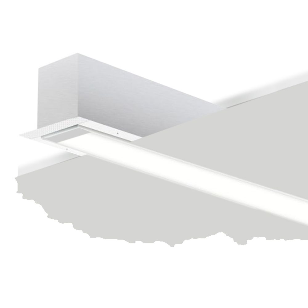 alcon 12200 2 r rft architectural led linear recessed mount light