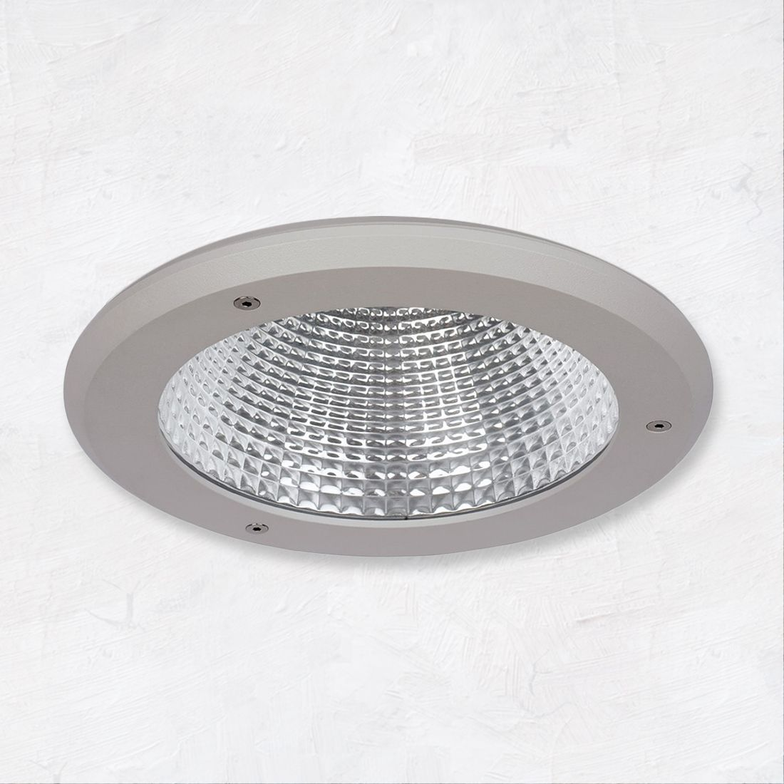 alcon 14078 6 6 inch vandal resistant outdoor led recessed light