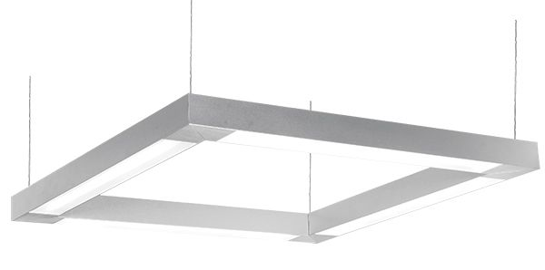 deco lighting cube led linear suspended pendant light fixture commercial architectural office lighting applications
