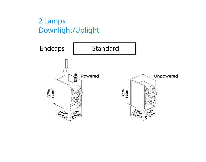 Philips Ledalite Mq06 Microsquare Suspended Linear