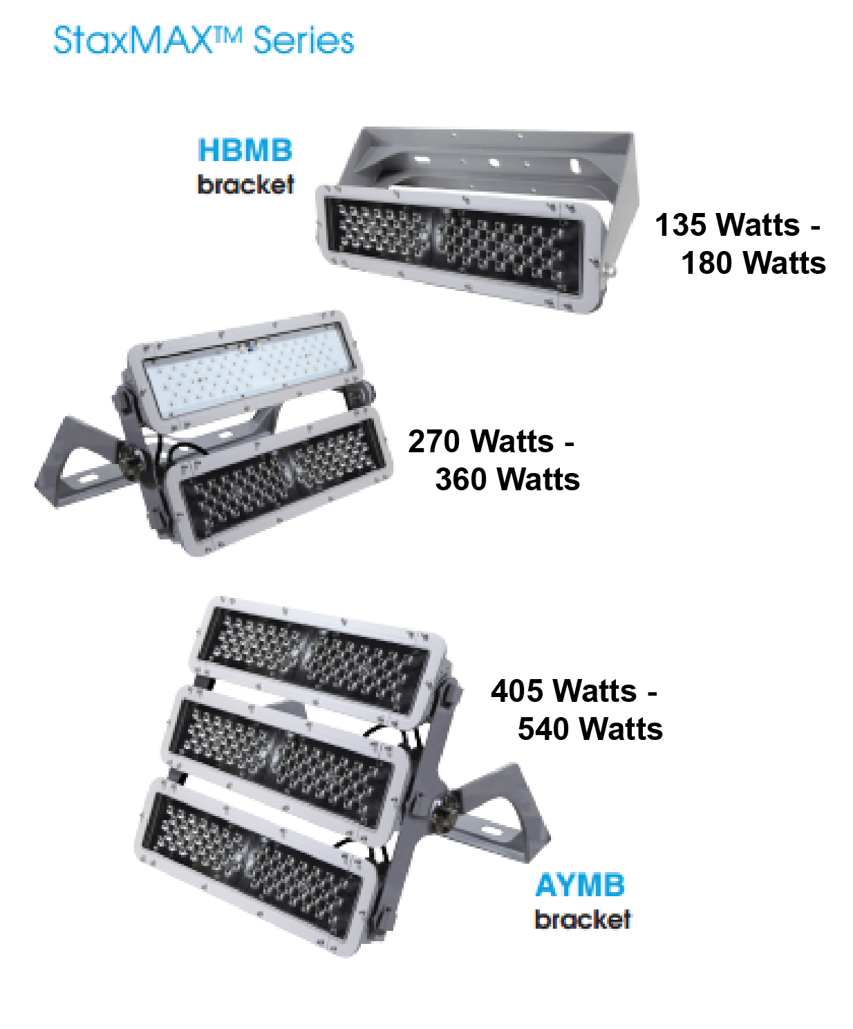 Maxlite Ellf135un50 Staxmax Series