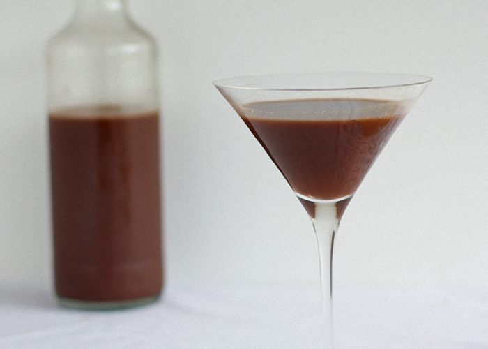 Какао ұнтағыдан шоколадты ликер