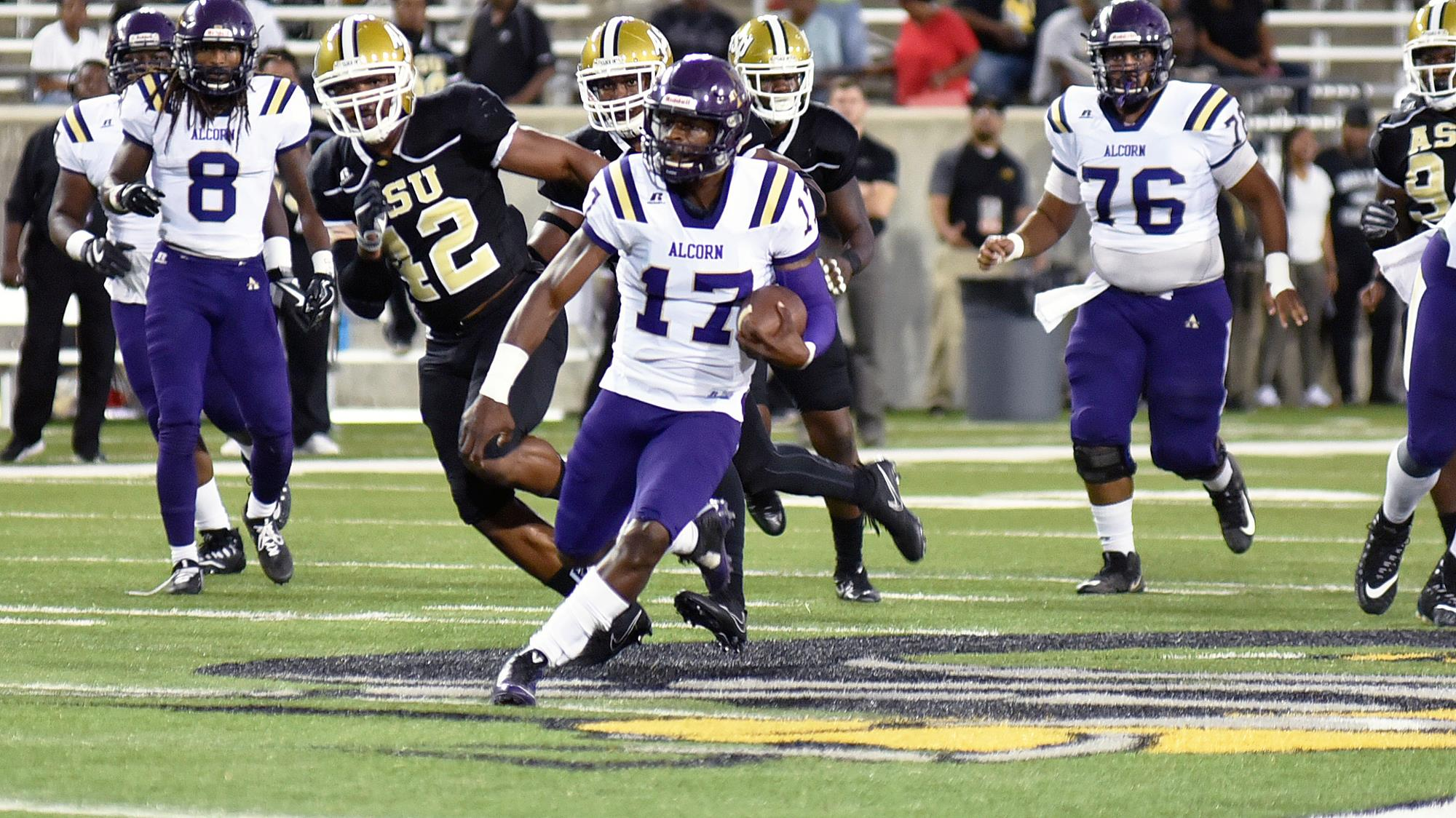 Dominant First Half Lifts Alcorn to 24-10 Win over Alabama State