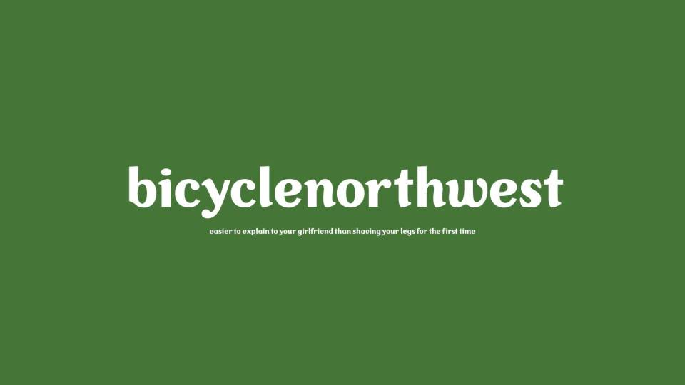 Logo Design: bicyclenorthwest bike news site, Seattle, Washington