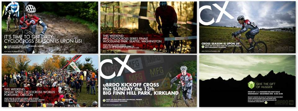 Client: uBRDO Seattle, Washington Web graphics and promotions for cyclocross  Photos: Patrick Love