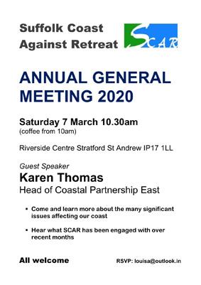 SCAR AGM poster