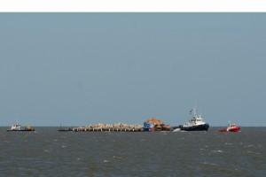 1 Barge arriving Thursday afternoon