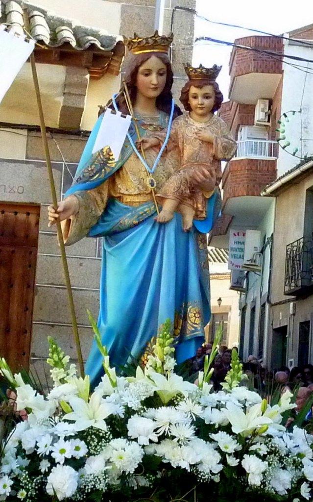 Resultado de imagen de Virgen de la paz Aldeanueva de Barbarroya