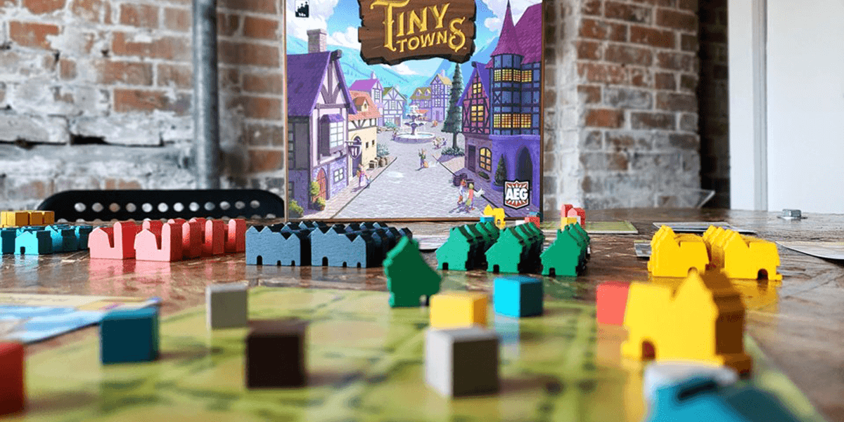 Tiny Towns Game assets
