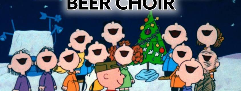 Christmas Caroling.Christmas Caroling Beer Choir Alderbrook Golf Course