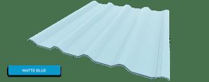 Alderon Warna Matte Blue - Biru Solid