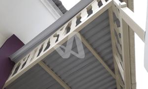 Alderon RS Proyek Aplikasi Residensial Atap Kanopi Garasi Rumah