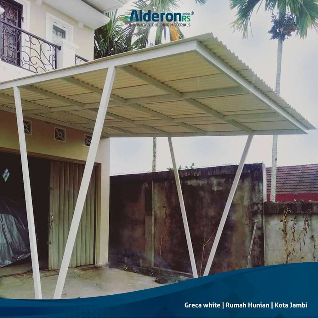 5 Inspirasi Model Atap Kanopi Untuk Carport Alderon