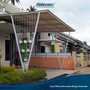 Model Atap Kanopi untuk Carport Rumah - Alderon RS