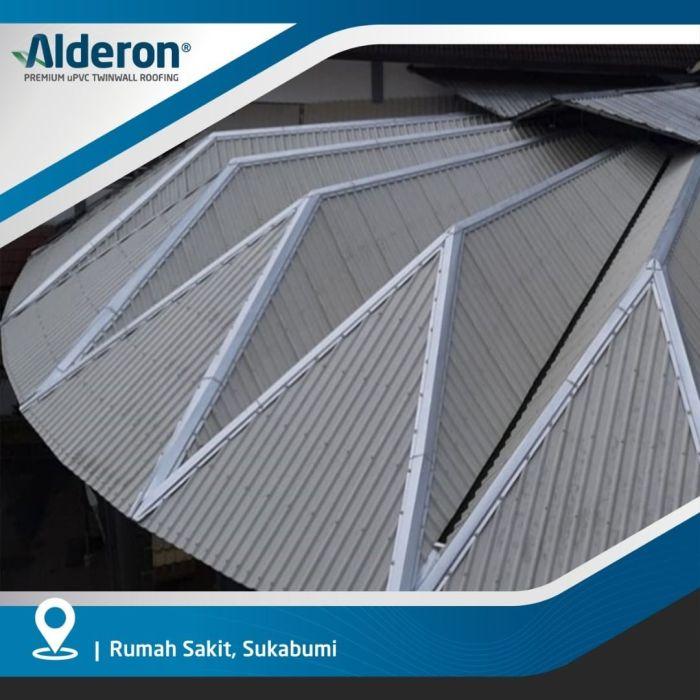 Model Atap Rumah Piramida - Alderon RS