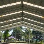 Aplikasi Alderon Twinwall Semi Transparan sebagai Atap Skylight