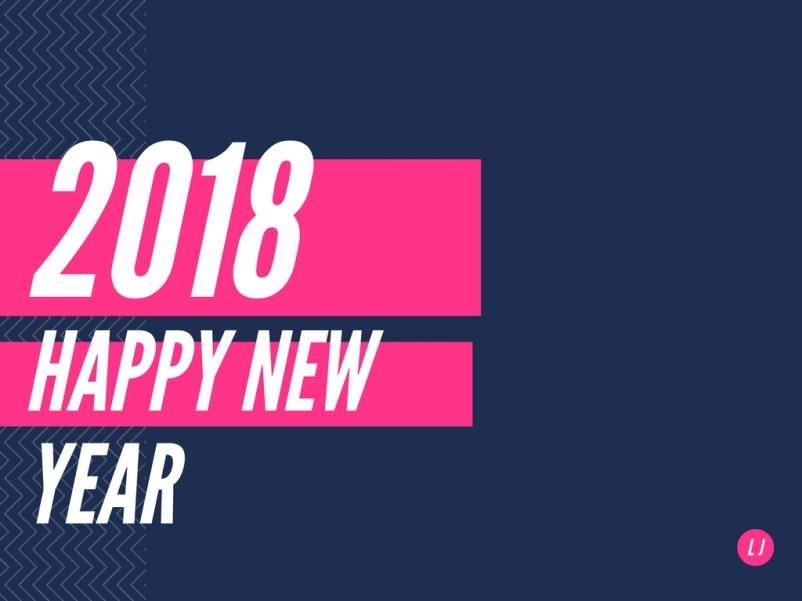 Download Gambar DP BBM GIF Bergerak Ucapan Selamat Tahun Baru 2018