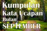 Kata Mutiara Bijak Doa Harapan Menyambut Awal Bulan September 2018 + Gambar